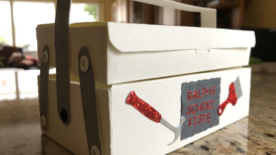Süßes Werkzeug in origineller Verpackung